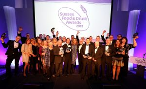 Sussex Food and Drinks Awards 2015 at the AMEX.